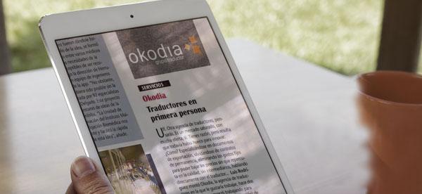 Okodia es noticia en la prensa